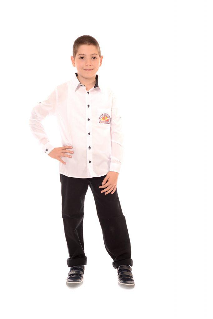 ученически униформи на СУ Д-р Петър Берон град Костинброд модел за момчета 4
