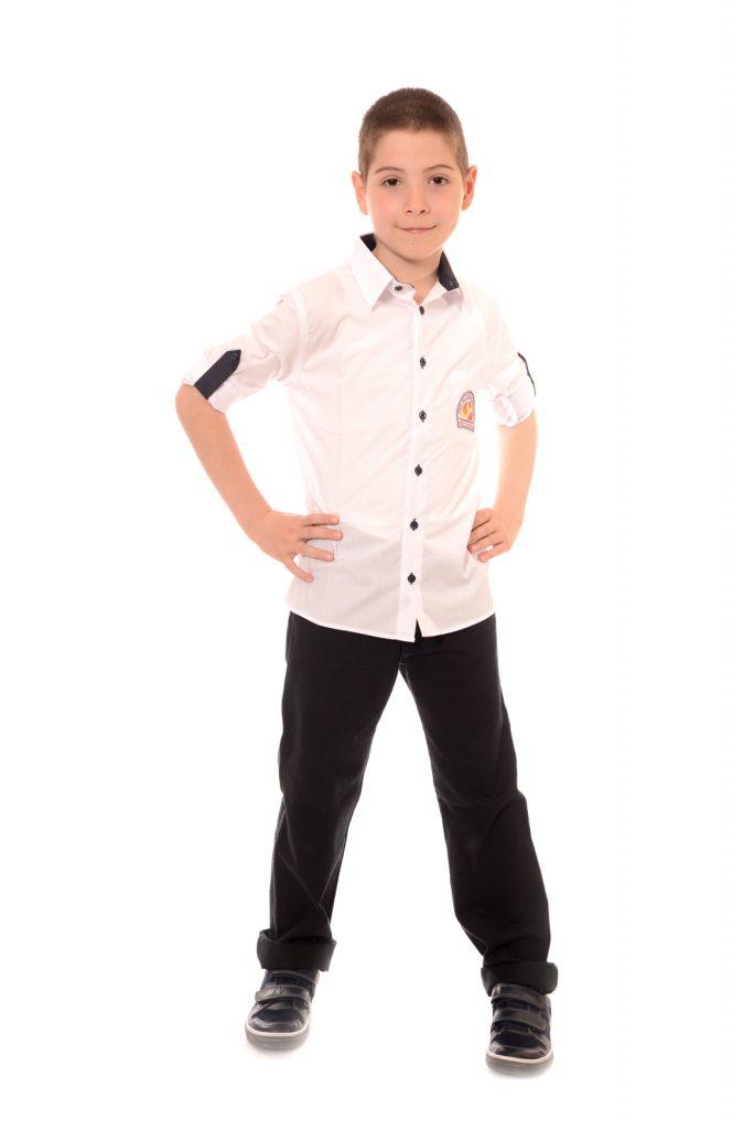 ученически униформи на СУ Д-р Петър Берон град Костинброд модел за момчета 3