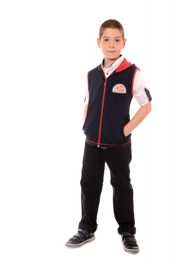 ученически униформи на СУ Д-р Петър Берон град Костинброд модел за момчета 2