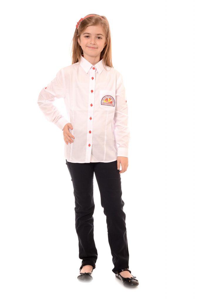 ученически униформи на СУ Д-р Петър Берон град Костинброд модел за момичета 5