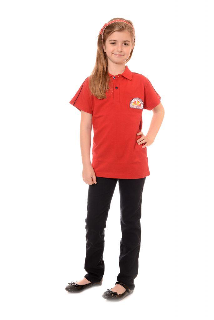 ученическите униформи на СУ Д-р Петър Берон град Костинброд модел за момичета 4