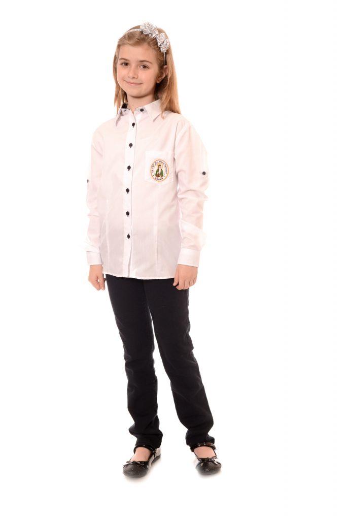 ученическа униформа на ОУ Св. Иван Рилски град Перник за момичета модел 1