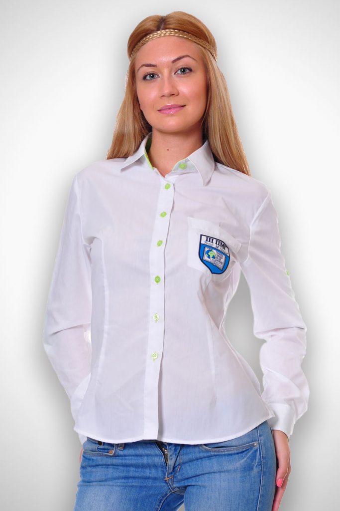 ученическа униформа - бяла риза