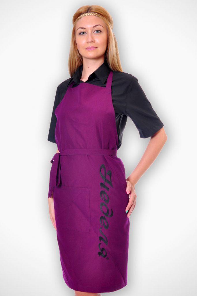 униформи за ресторанти дамски модел 5 с престилка