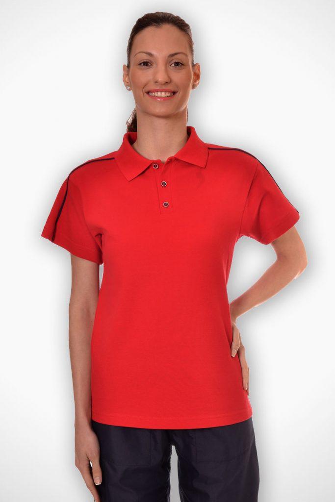 тениска с якичка като елемент от униформа модел 1