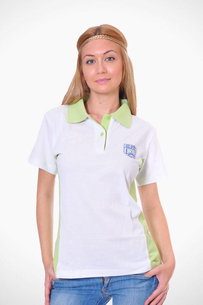 тениска с яка като елемент от униформа модел 4