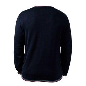 пуловер с дълъг ръкав за училище Британика от ТРЕА поглед отзад