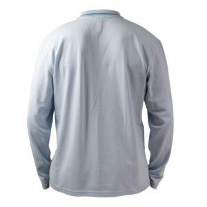 Тениска Пике с дълъг ръкав за училище Британика от ТРЕА гръб