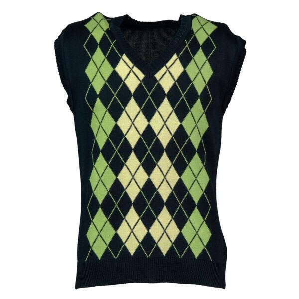 mujki-pulover-kus-rukav-zelen-32ro-1